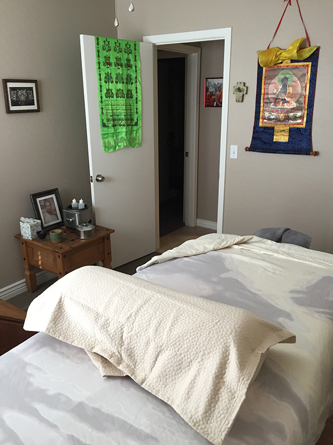 Ayurvedic Spa Healing Roon